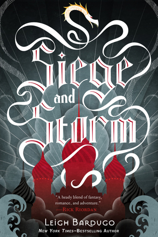 #booktalk: Siege and Storm